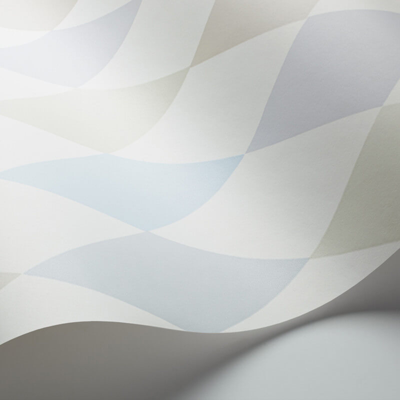 Cole & Son Punchinello Soft Blue Wallpaper - 103/2011