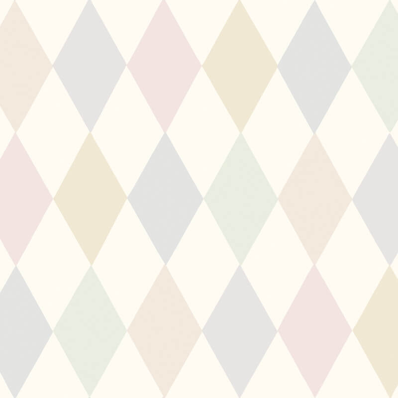 Cole & Son Punchinello Soft Pink Wallpaper - 103/2010