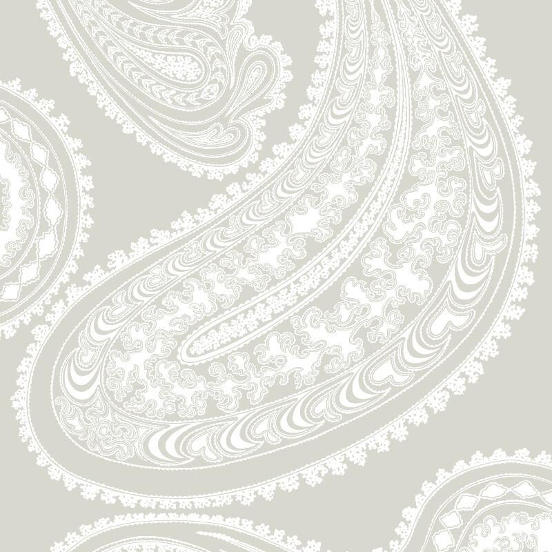Cole & Son Rajapur Cloud Grey Wallpaper - 95/2011