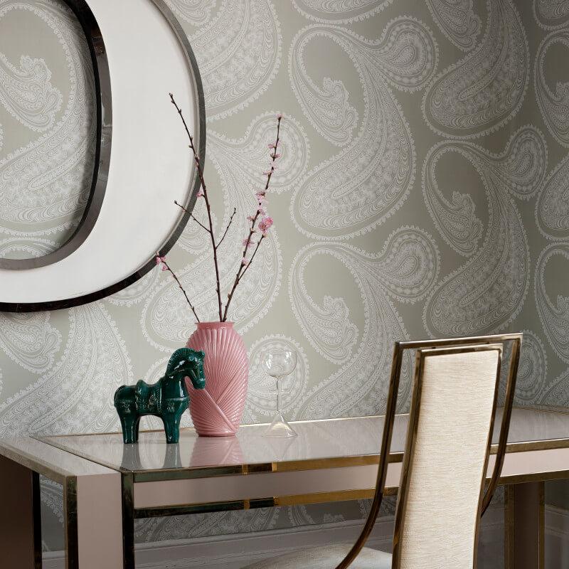 Cole & Son Rajapur Soft Green Wallpaper - 95/2063