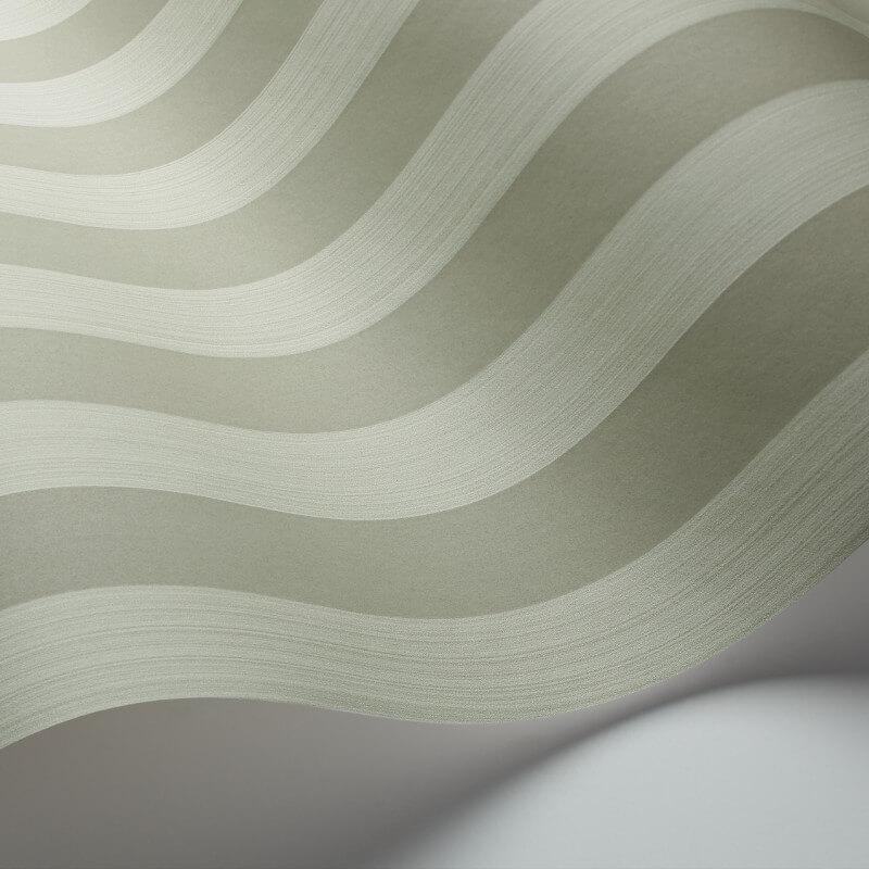 Cole & Son Regatta Stripe Olive Wallpaper - 110/3014