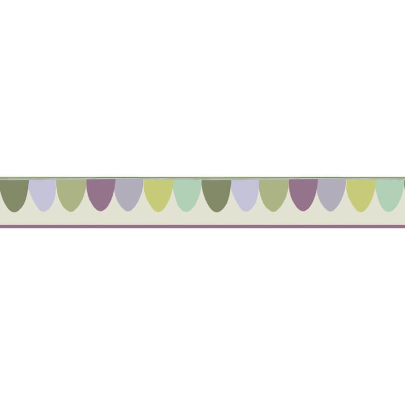 Cole & Son Scaramouche Ice Cream Wallpaper Border - 103/8027
