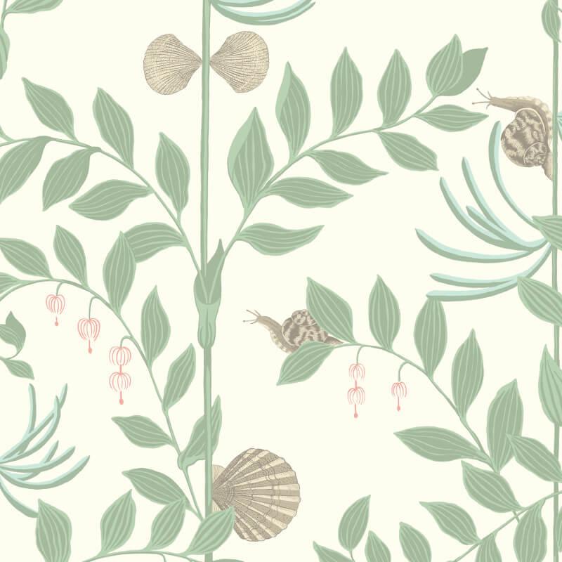 Cole & Son Secret Garden Soft Green Wallpaper - 103/9031