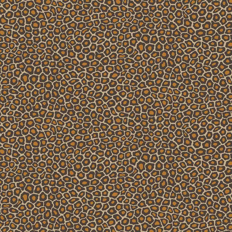 Cole & Son Senzo Spot Brown/Gold Wallpaper - 109/6027