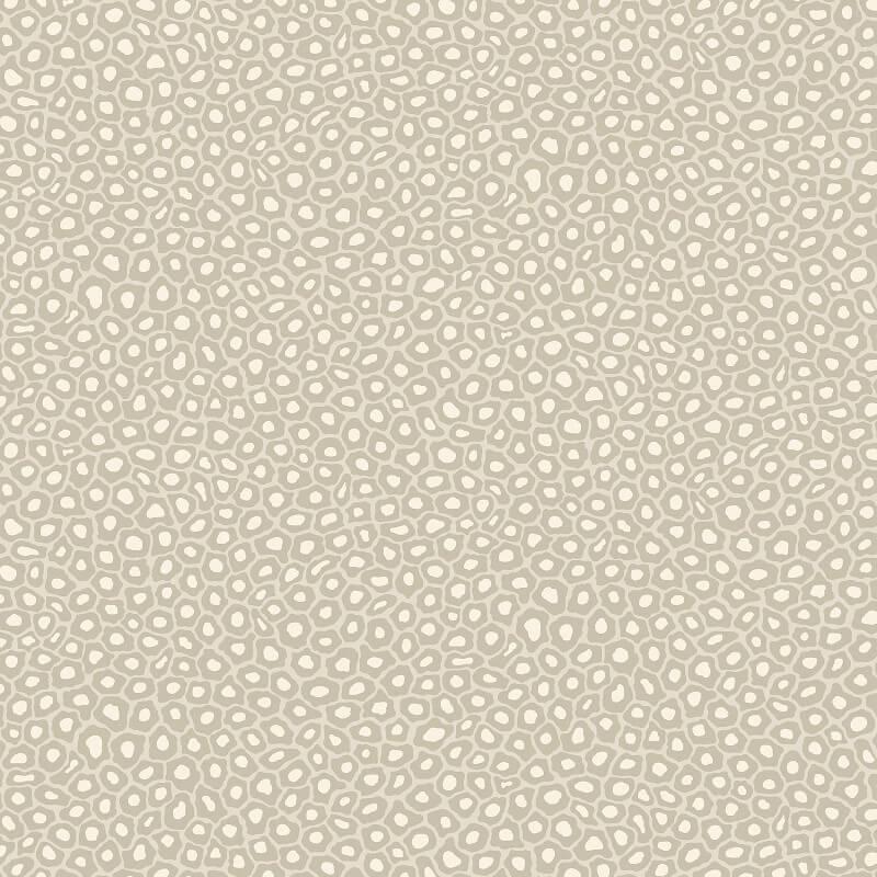Cole & Son Senzo Stone/White Leopard Wallpaper - 109/6030
