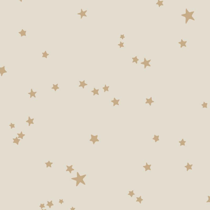 Cole & Son Stars Buff/Gold Wallpaper - 103/3014