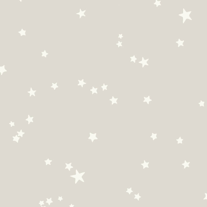 Cole & Son Stars Grey/White Wallpaper - 103/3012