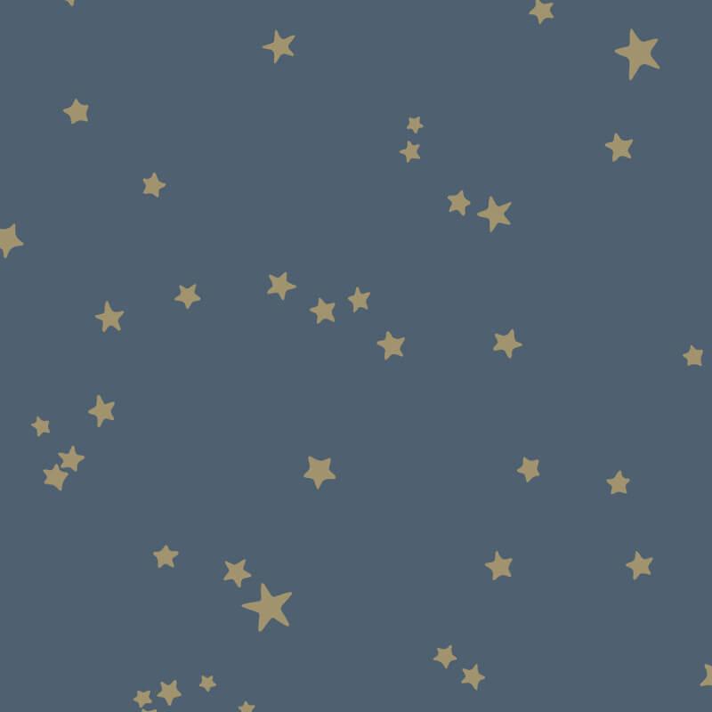 Cole & Son Stars Midnight Blue Wallpaper - 103/3017