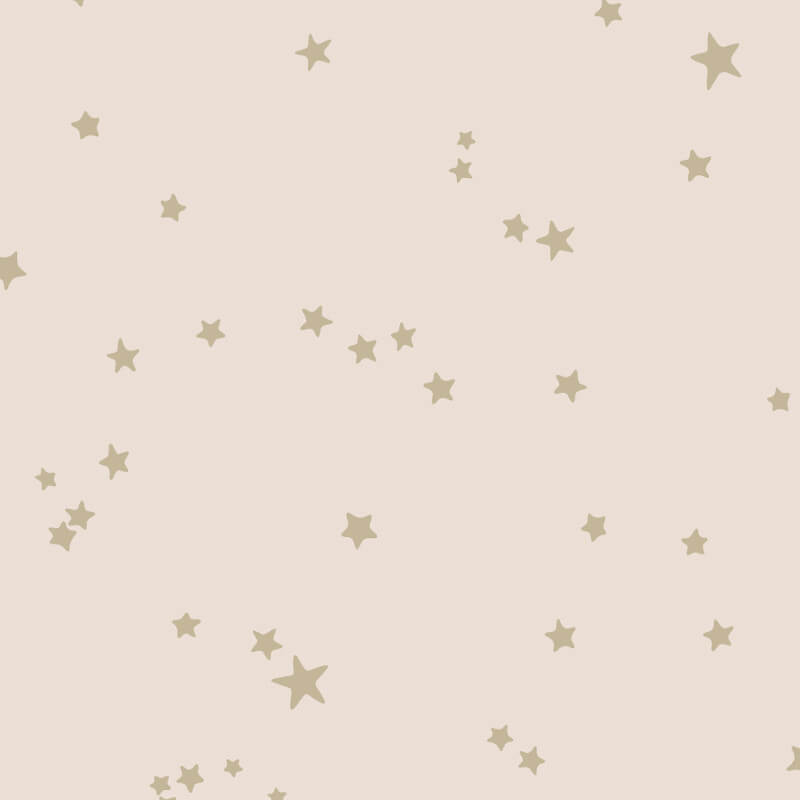 Cole & Son Stars Pink/Gold Wallpaper - 103/3015