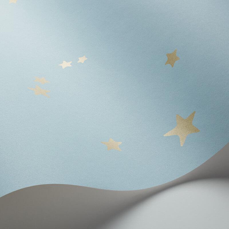 Cole & Son Stars Powder Blue Wallpaper - 103/3016