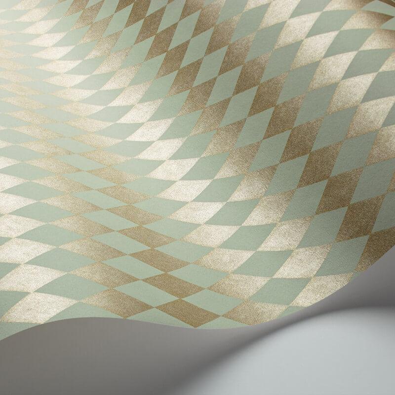 Cole & Son Titania Duck Egg Wallpaper - 103/14061