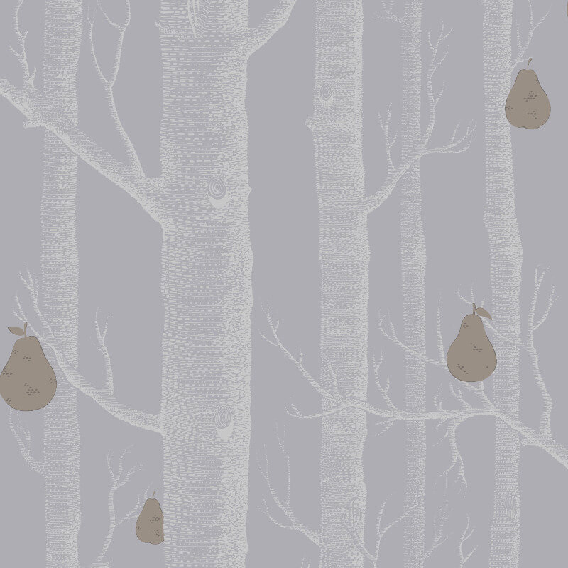 Cole & Son Woods and Pears Grey Wallpaper - 95/5030