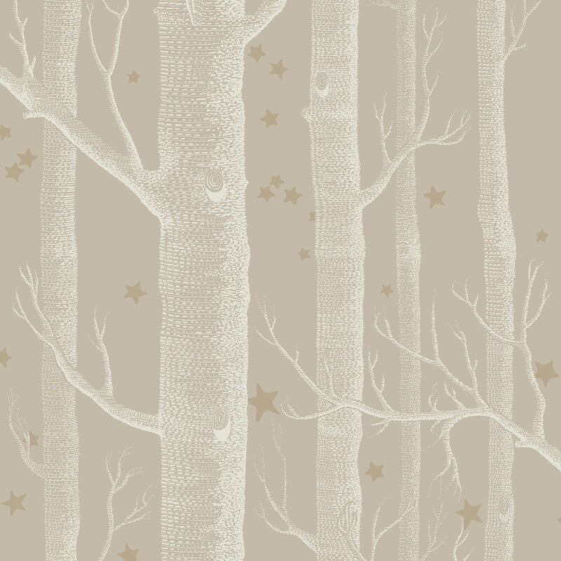 Cole & Son Woods and Stars Linen Wallpaper - 103/11047