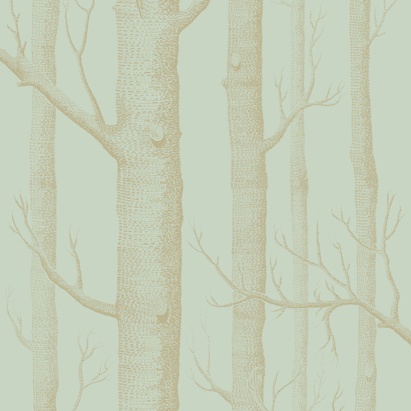 Cole & Son Woods Green/Gold Wallpaper - 103/5023