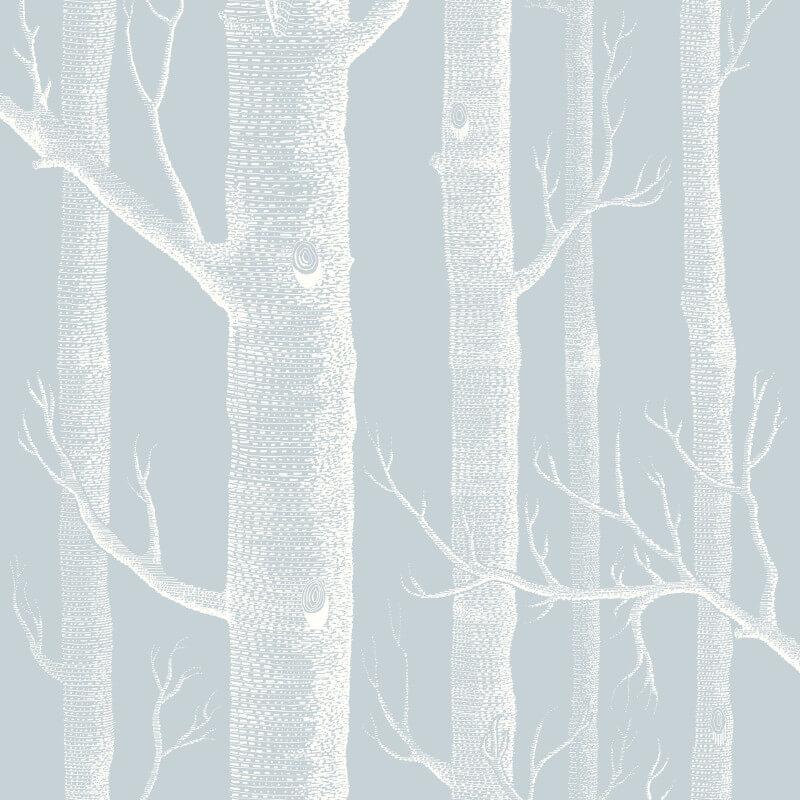 Cole & Son Woods Powder Blue Wallpaper - 103/5022
