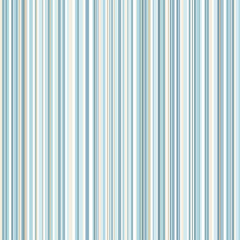 Coloroll Martez Stripe Blue Wallpaper M0799