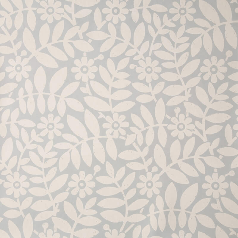 Little Greene Craven Street Wallpaper in Greystone