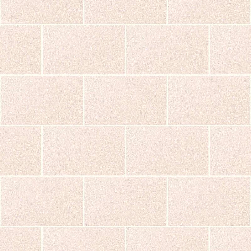 Crown London Tile Champagne Glitter Wallpaper - M1124