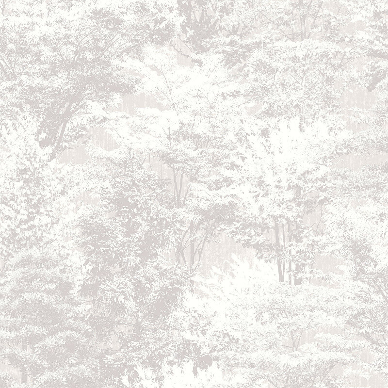 Crown Sycamore Forest Grey Wallpaper - M1336