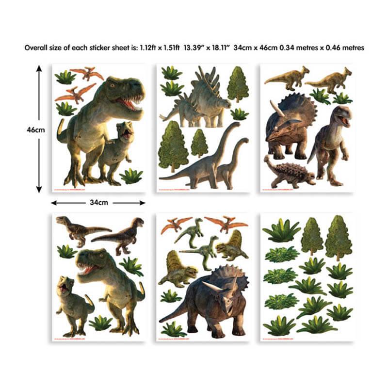 Walltastic Dinosaur Land Room Decor Kit - 41103