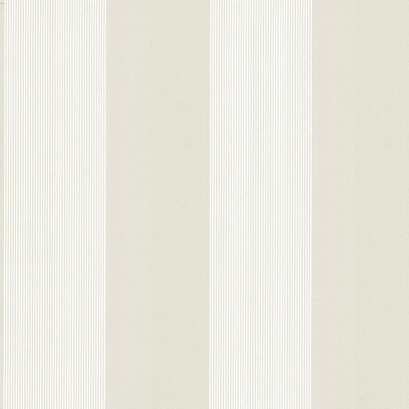Little Greene Elephant Stripe Wallpaper in Sharp Stone