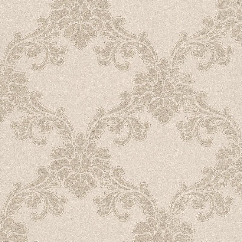 Erismann Cassiopeia Damask Beige Wallpaper - 1760-14