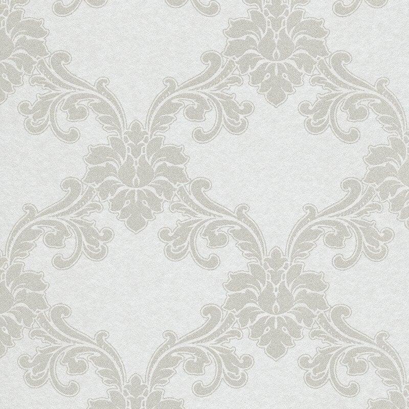 Erismann Cassiopeia Damask Ivory Wallpaper - 1760-01