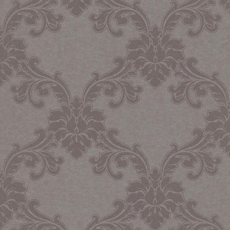 Erismann Cassiopeia Damask Pewter Wallpaper - 1760-37