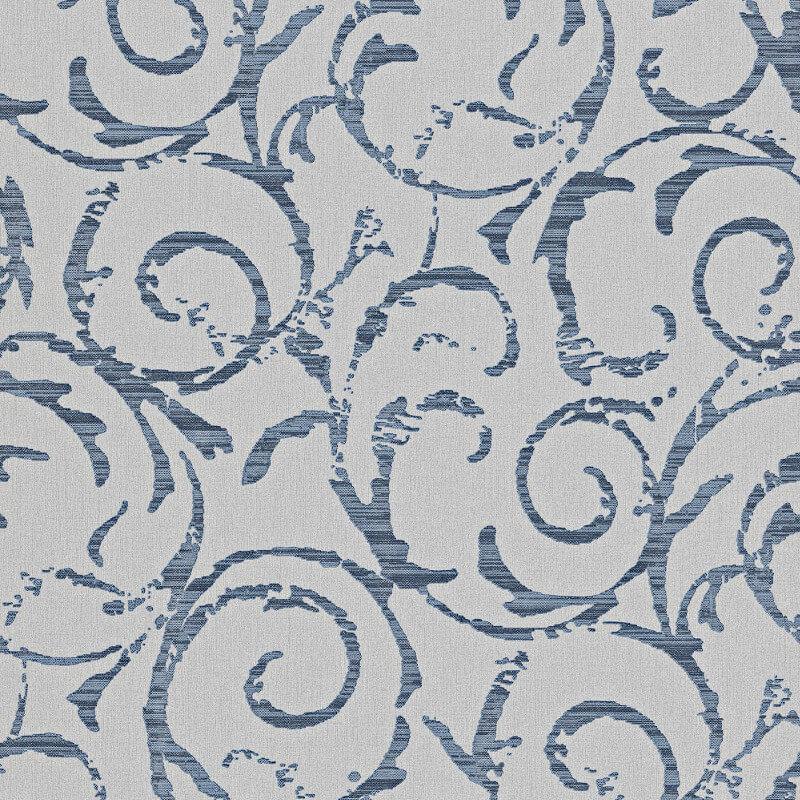 Erismann Cassiopeia Motif Blue Glitter Wallpaper - 1772-08