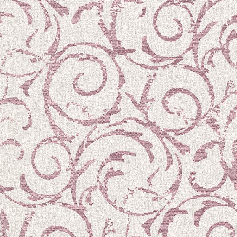 Erismann Cassiopeia Motif Plum Glitter Wallpaper - 1772-16