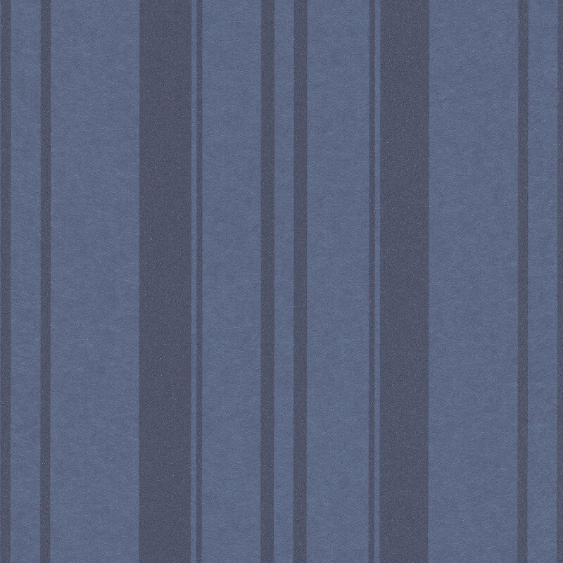 Erismann Cassiopeia Striped Blue Wallpaper - 1762-08