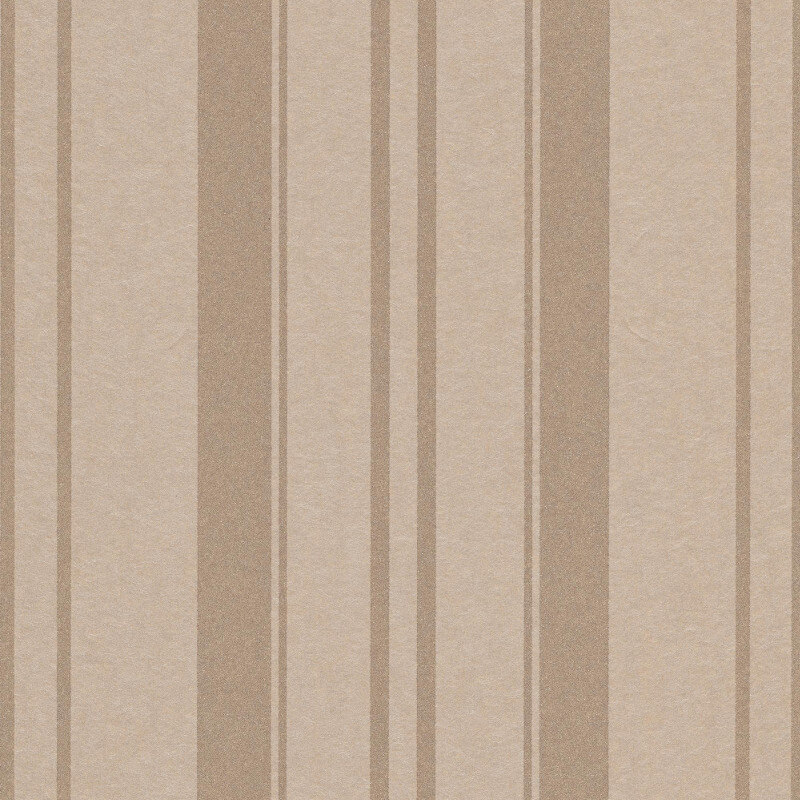 Erismann Cassiopeia Striped Taupe Wallpaper - 1762-02