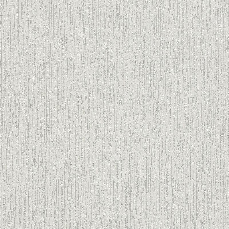 Erismann Fleur Plain White Glitter Wallpaper - 9731-01