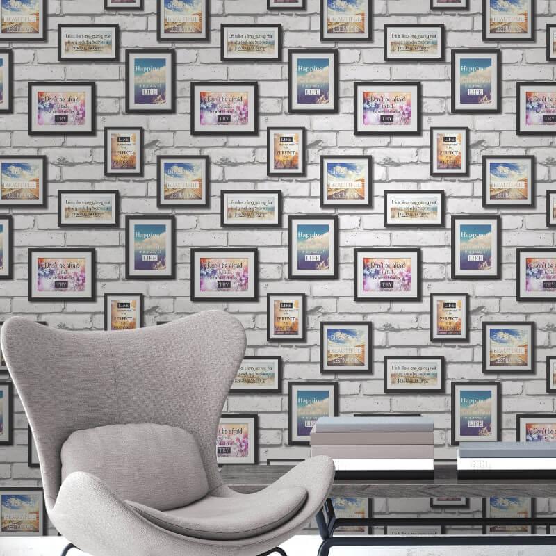 Fine Decor Novelty Frames Multi Wallpaper - FD41920