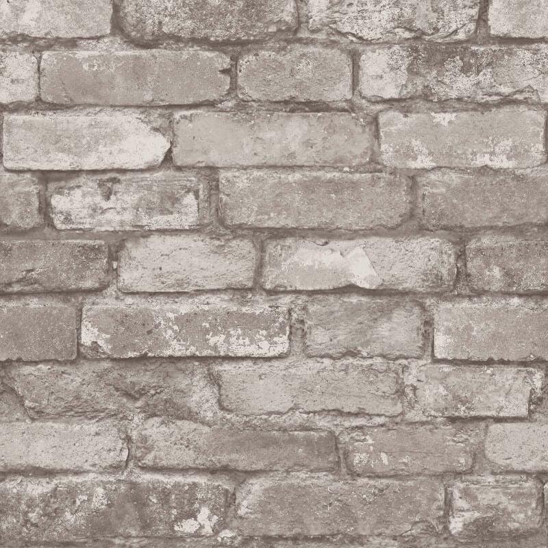 Natural Stone Product : Fine decor rustic brick natural stone wallpaper fd