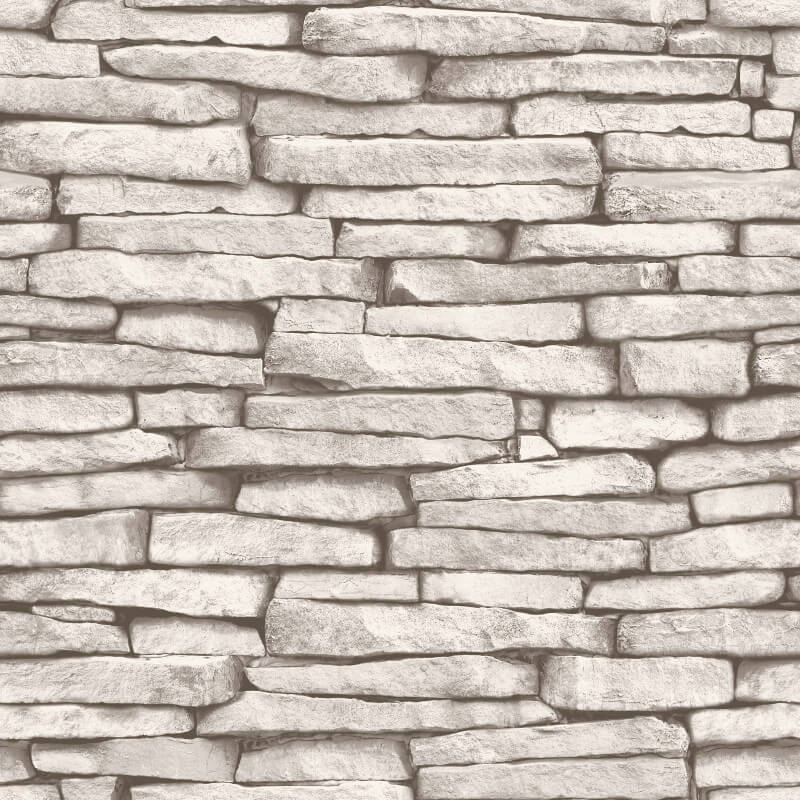 Fine Decor Slate Natural Stone Wallpaper - FD31292