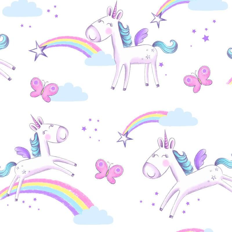 Fine Decor Unicorn Multi Wallpaper - FD41922