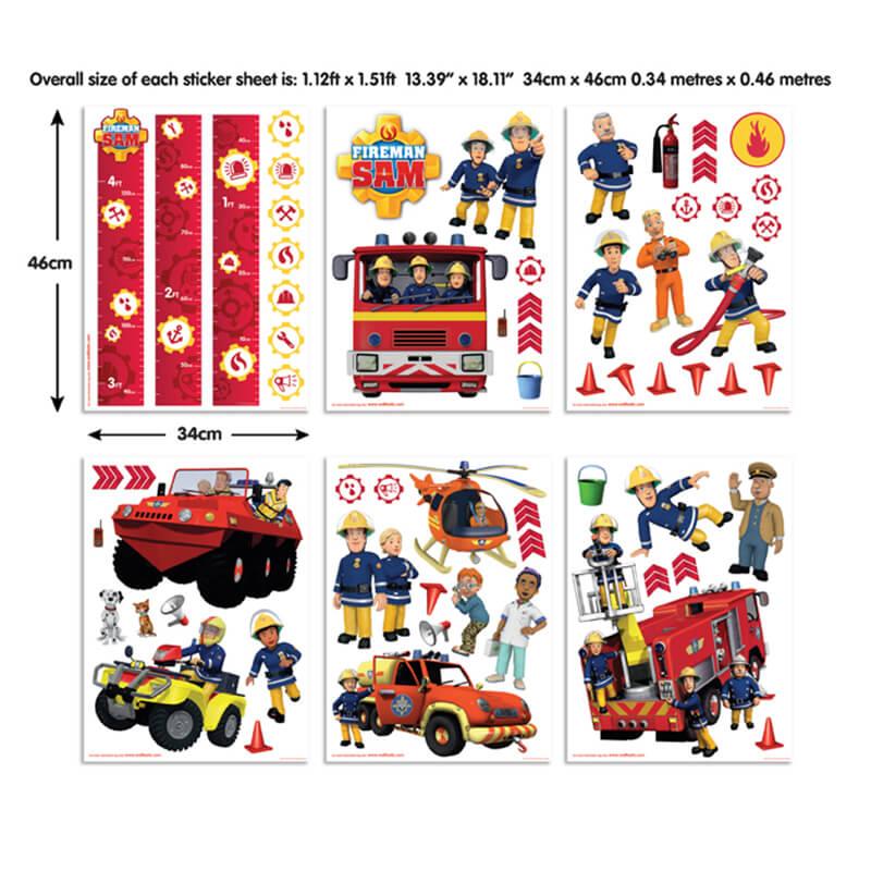 Walltastic Fireman Sam Room Decor Kit   43213