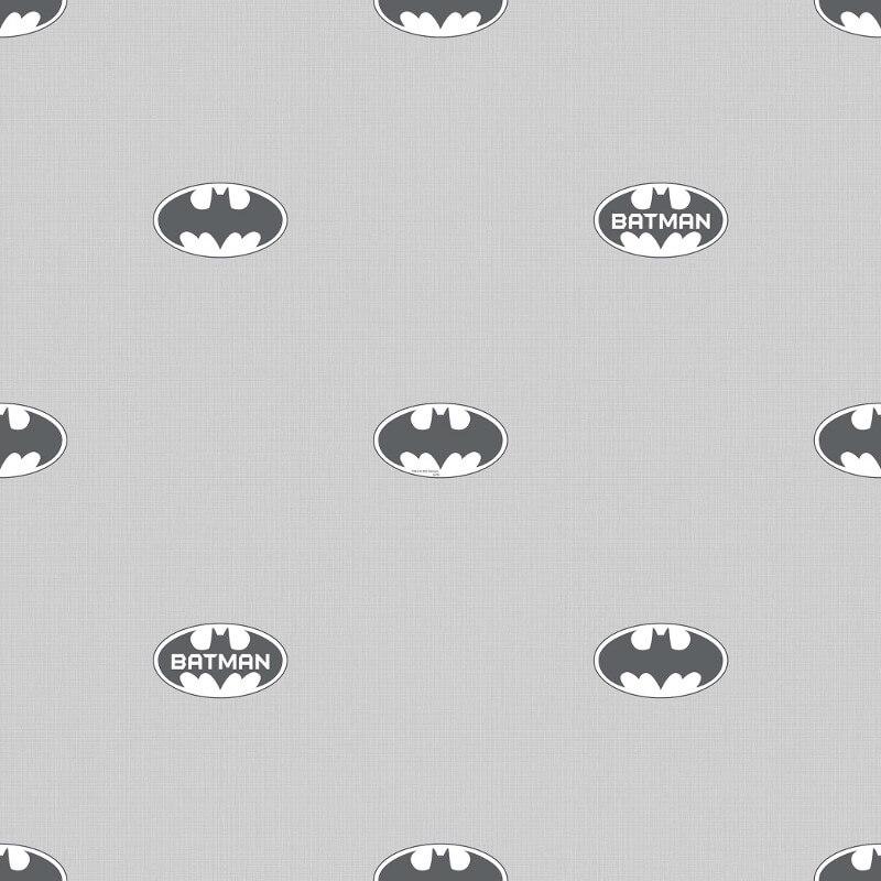 Galerie Batman Logo Grey Wallpaper - BT9004-1