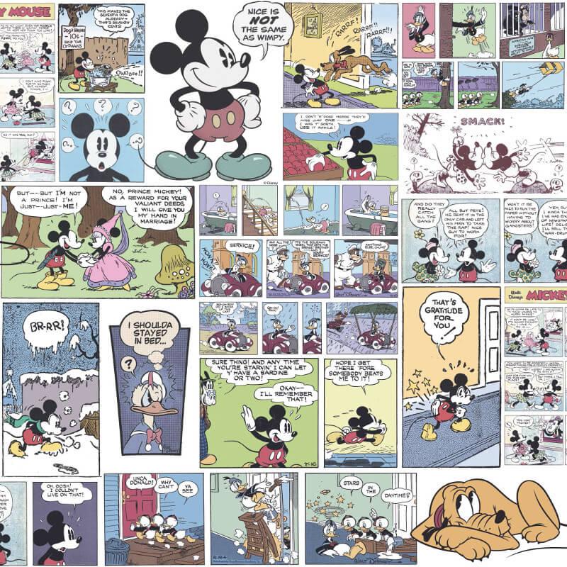 Galerie Disney Mickey Comic Multi Wallpaper - DY3011-1