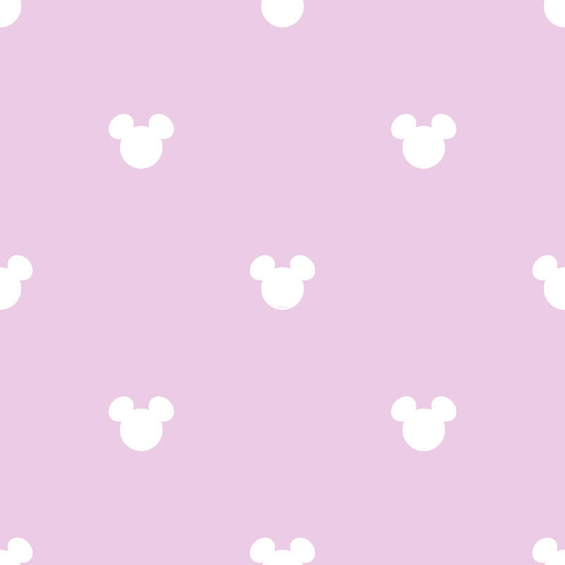 Galerie Disney Mickey Mouse Logo Pink Wallpaper - MK3015-4