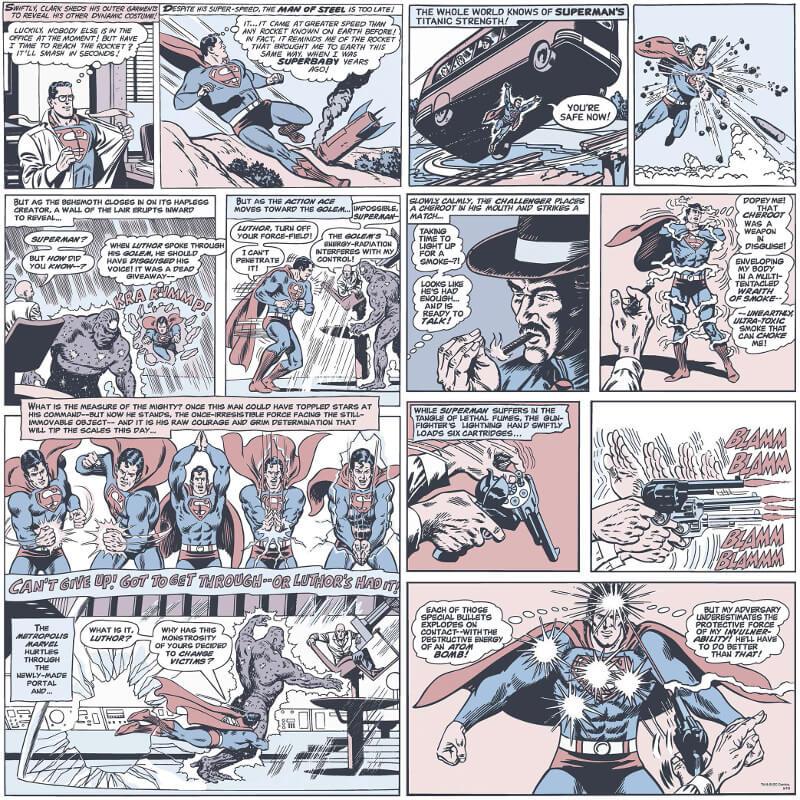 Galerie Superman Comic Multi Wallpaper - SP9000-2