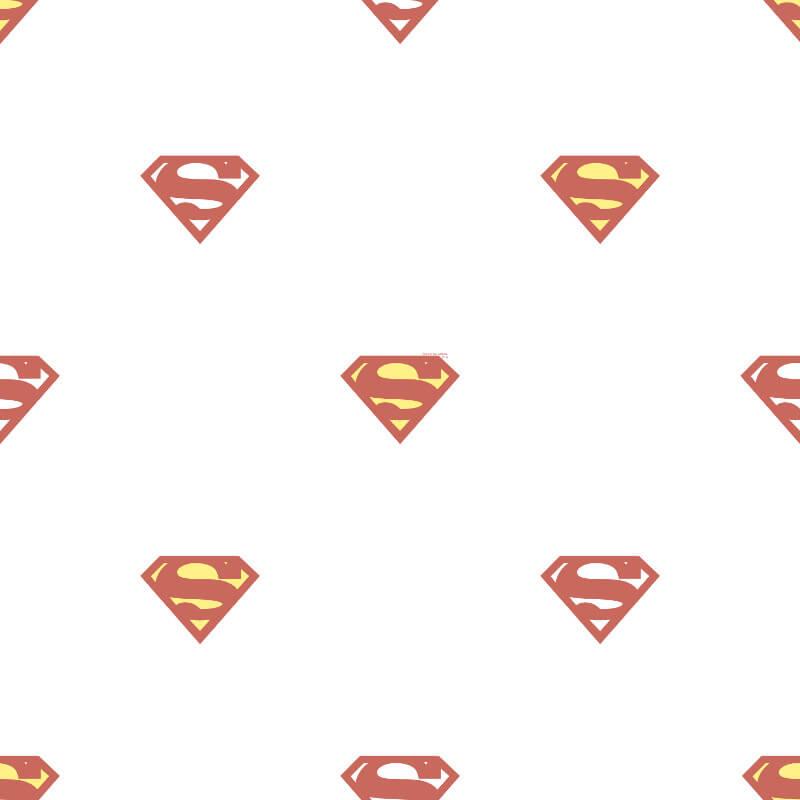 Galerie Superman Logo Red/White Wallpaper - SP9003-1