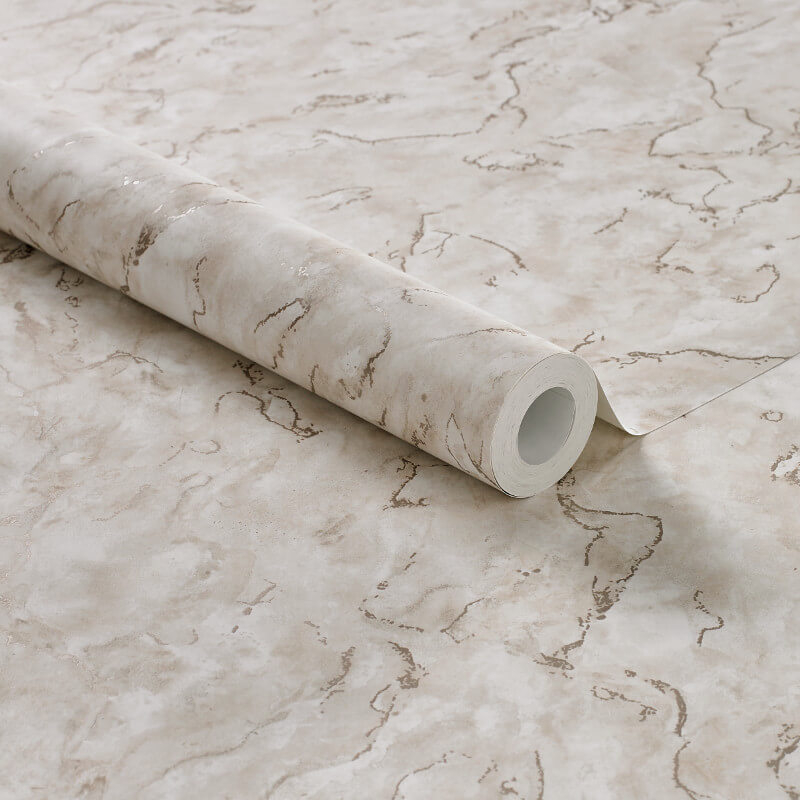 Graham & Brown Boutique Marble Pale Gold Metallic Wallpaper - 104147