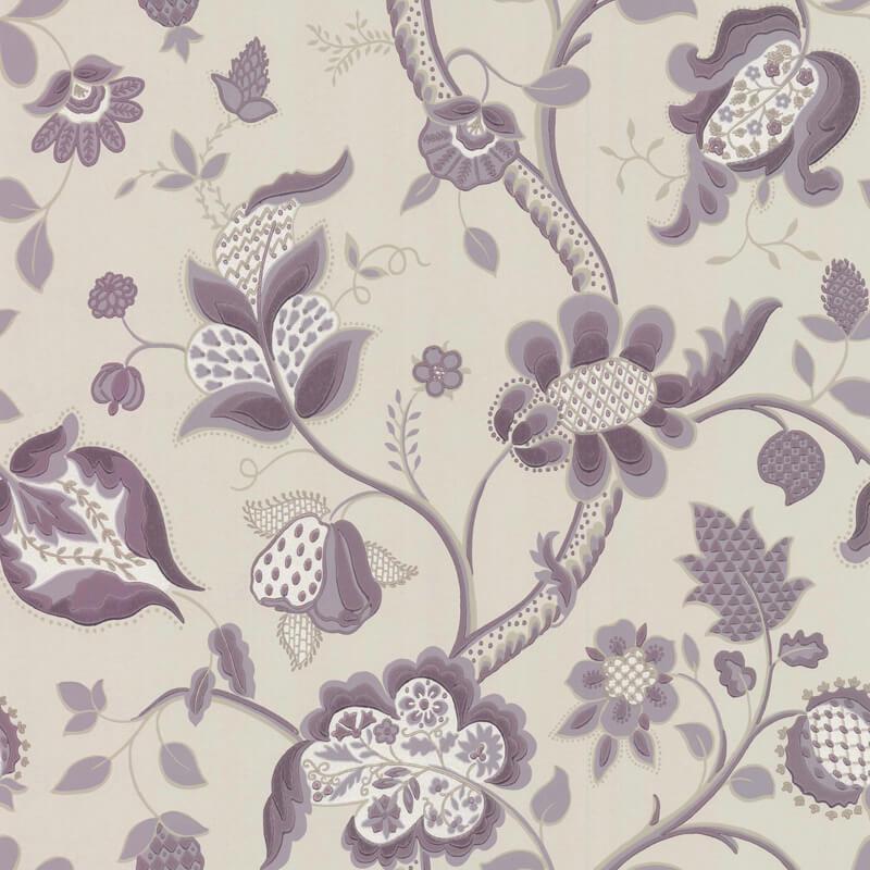 Little Greene High Street Walpaper in Lavender