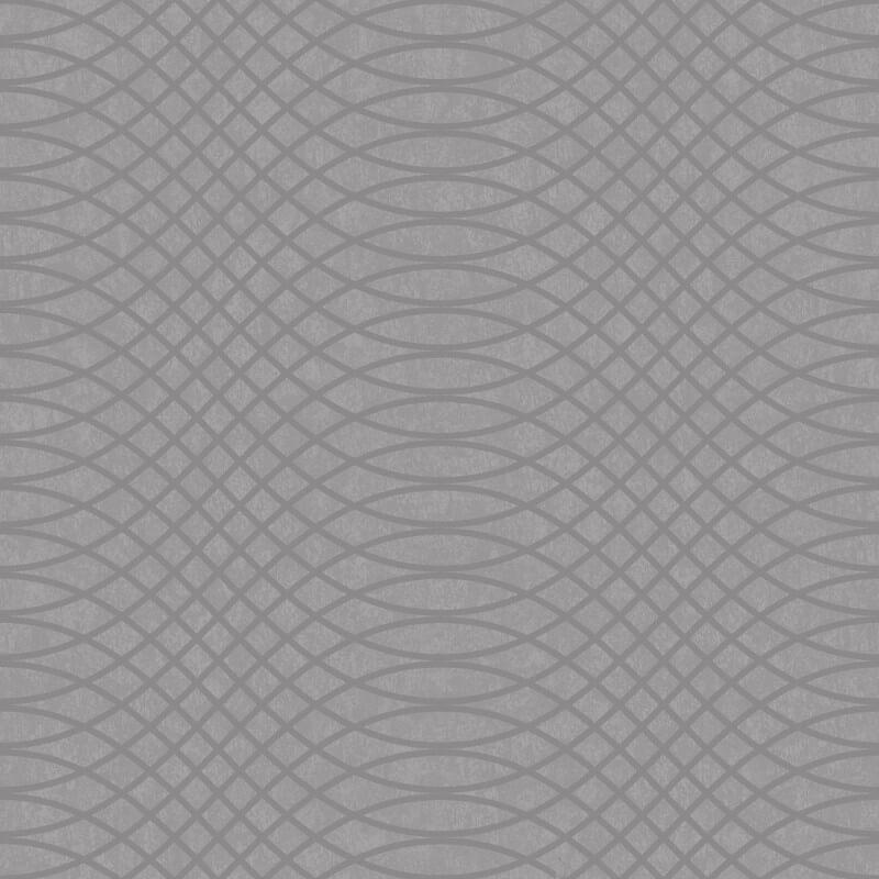 Holden Decor Chroma Geometric Charcoal Glass Beaded Wallpaper - 99322