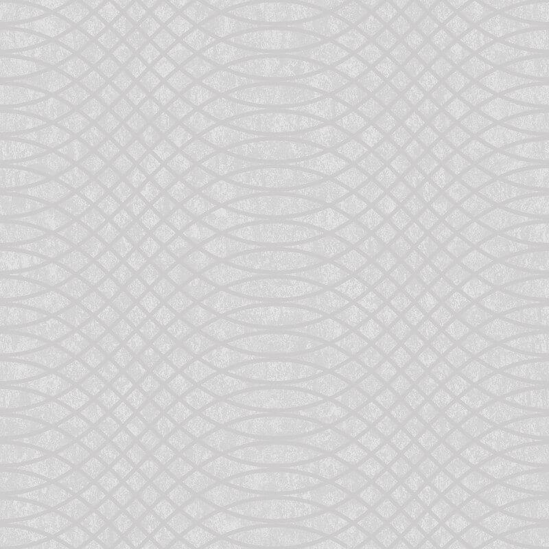 Holden Decor Chroma Geometric Grey Glass Beaded Wallpaper - 99321