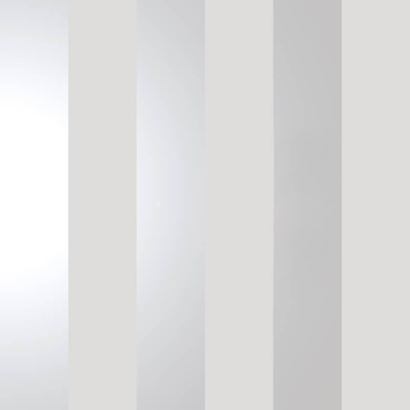 Holden Decor Dillan Stripe Grey/Silver Metallic Wallpaper - 12760