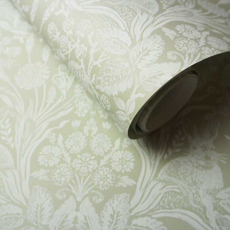 Holden Decor Harlen Sage Wallpaper - 90162