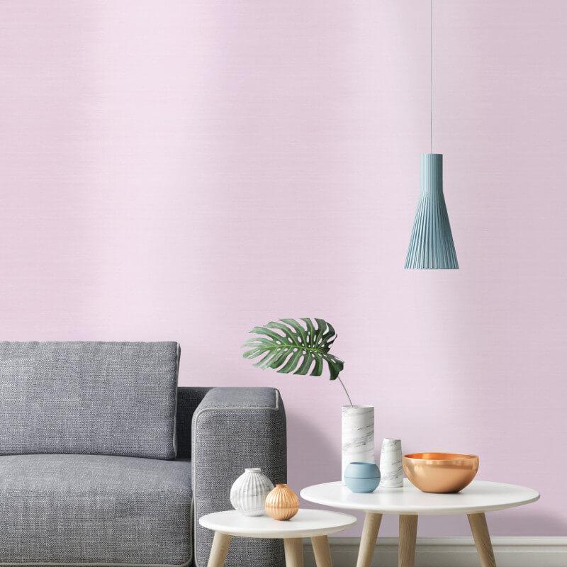Holden Decor Ombre Stripe Pink Wallpaper - 90082